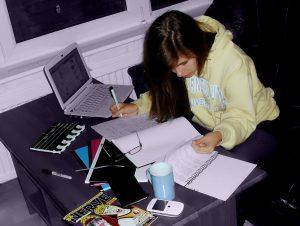 Tijdens het schrijven is het houden van overzicht en structuur erg belangrijk.